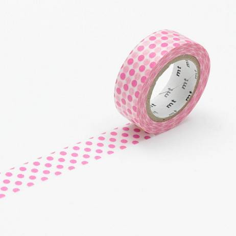 MT MASKING TAPE DOT PINK.