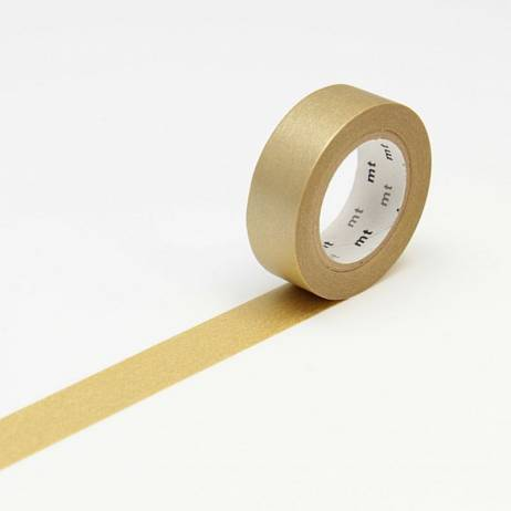 MT MASKING TAPE GOLD.