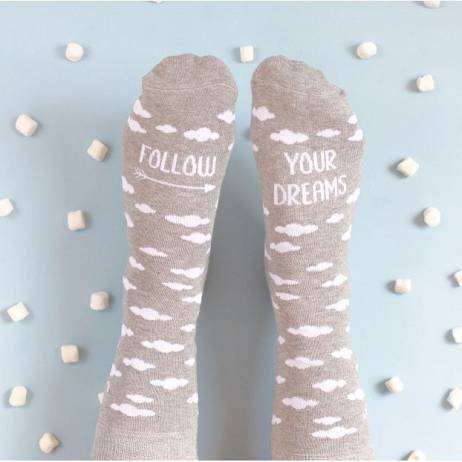 CALCETINES FOLLOW YOUR DREAMS.