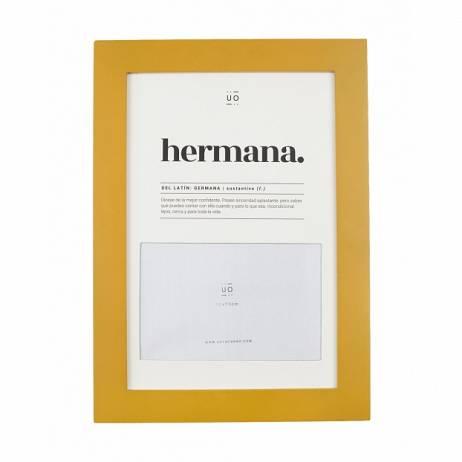 MARCO DE FOTOS HERMANA DEFINICIÓN.