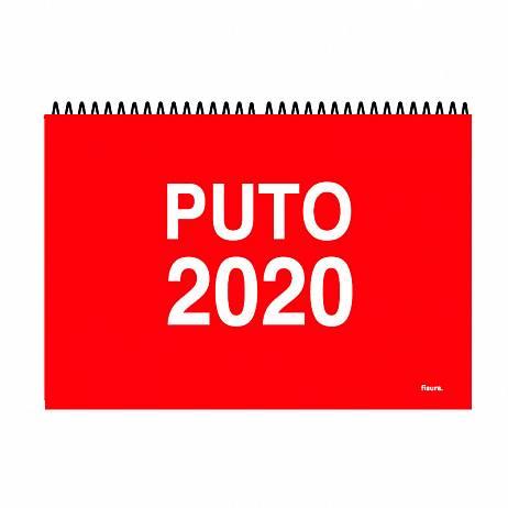 CALENDARIO DE PARED PUTO 2020.