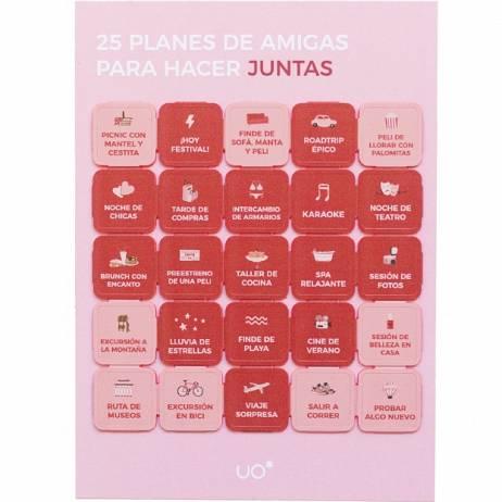 POSTAL, 25 PLANES FRIENDS.