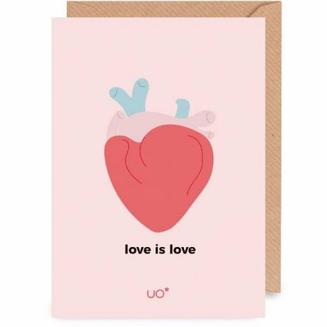 POSTAL LOVE IS LOVE.