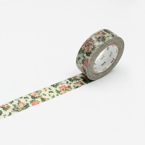 MT MASKING TAPE MINI FLOWER BOTANICAL ART