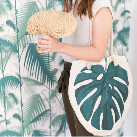 BOLSO DE PLAYA MONSTERA.