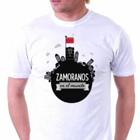 CAMISETA ZAMORANOS EN EL MUNDO