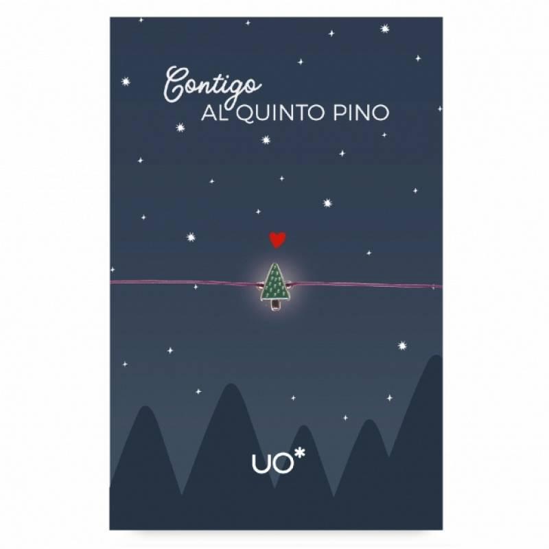 PULSERA CHARM CONTIGO AL QUINTO PINO.