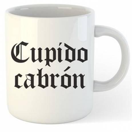 TAZA CUPIDO CABRÓN.