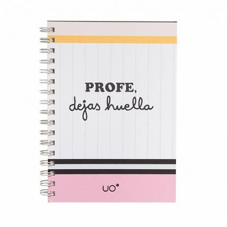 LIBRETA PROFE DEJAS HUELLA.