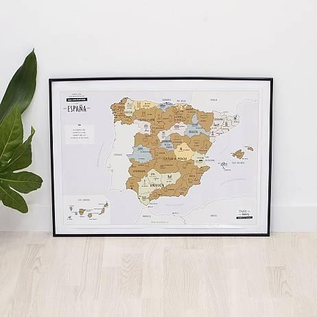 MAPA RASCABLE DE ESPAÑA
