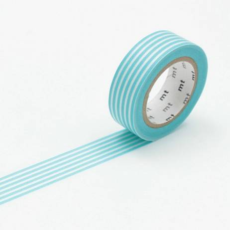 MT MASKING TAPE BORDER PASTEL BLUE.