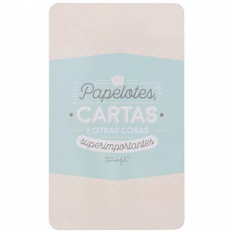 CAJA PAPELOTES, CARTAS Y OTRAS COSAS SUPERIMPORTANTES