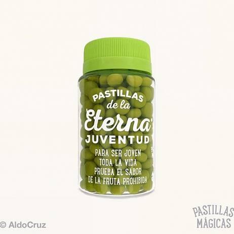 PASTILLAS DE LA ETERNA JUVENTUD.