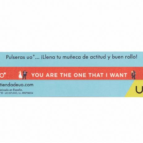 PULSERA YOU ARE THE ONE THAT I WANT.