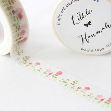 WASHI TAPE «BOSQUE HANA»LITTLE HANNAH.