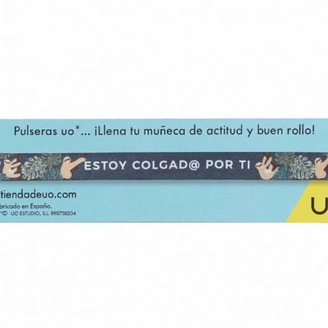PULSERA ESTOY COLAGAD@ POR TI.