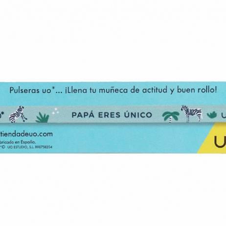 PULSERA PAPÁ ERES ÚNICO.
