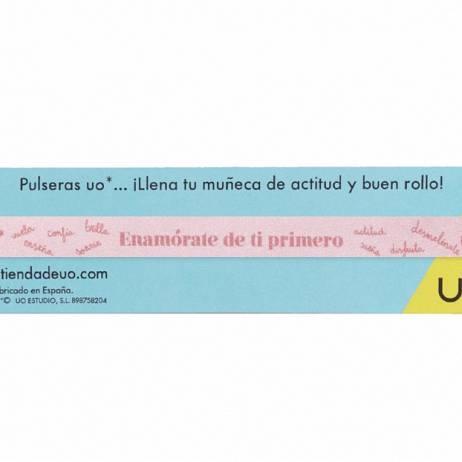 PULSERA ENAMÓRATE DE TI PRIMERO.